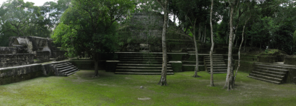 Mayan Ruins of Caracol Located in Belize